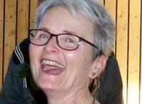 Gaby lachend