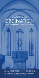 Einladung Ordination