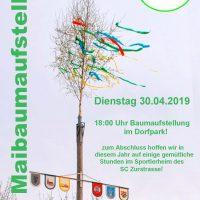 Maibaum-Flyer 2019