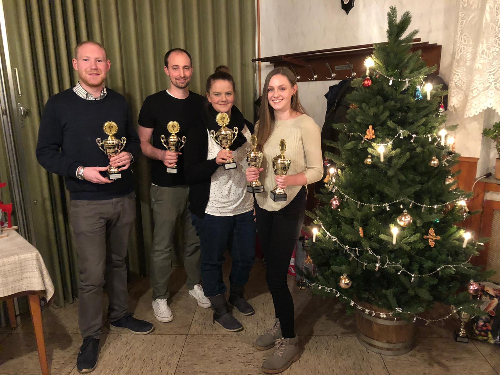 Vorweihnachtsliche Vereinsfeier des Breckerfeld