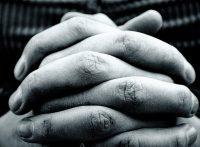 Hände Kirche beten