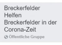 Corona-Facebook-Gruppe